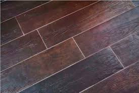 tile flooring that looks like wood planks robinson house