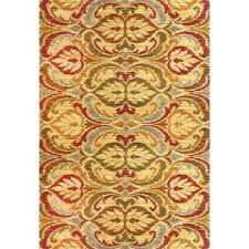 4 u0027 x 6 u0027 yellow u0026 gold area rugs you u0027ll love wayfair