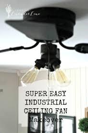 ceiling fan ideas outstanding industrial look ceiling fan ideas