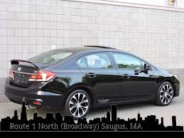used 2013 honda civic sdn si at auto house usa saugus