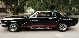 Black Gt Mustang Deal Or No Deal Verify 1965 1966 Mustang Gt