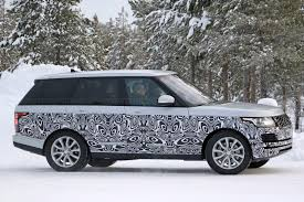 a tiny facelift for range rover u0027s biggest model in 2017 by car
