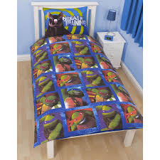 teenage mutant ninja turtles bedding single duvet cover sets boys