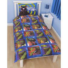 teenage mutant ninja turtles bedding single duvet cover sets boys