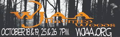 wjaa haunted woods the original haunted woods