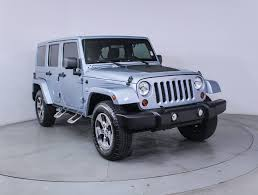 sahara jeep white used 2012 jeep wrangler unlimited sahara artic edition suv for