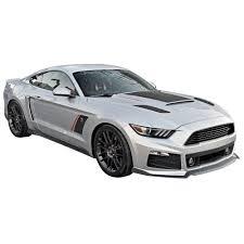 Black Gt Mustang Roush 421869 Mustang Heat Extractor Insert Black Gt 2015 2017