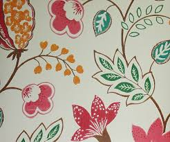 benvarden wallpaper cheerful contemporary floral wallpaper in