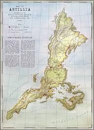 Alternate History Maps Antillia Alternate History Map By Lingonb On Deviantart
