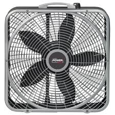 most powerful window fan lasko 20 in power plus box fan b20540 the home depot