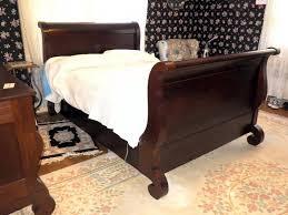 Mahogany Sleigh Bed Berkey U0026 Gay Antique Empire Mahogany Sleigh Bed Built In 1800 U0027s