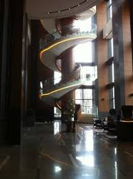 circular stairs in the lobby picture of conrad seoul seoul