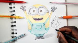sketch sunday 6 how to draw bob minions despicable me