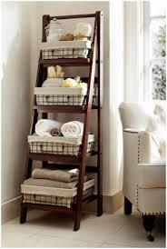 Leaning Ladder Bookshelves by Ladder Shelf Desk Diy Appealing Collection Of Rustic Ladder