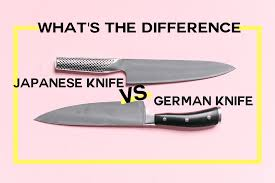 what s the difference between german and japanese knives kitchn