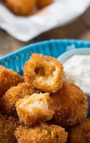 fried mashed potato balls spicy southern kitchen