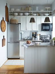 Small Kitchen Organizing - chic organization tips for small kitchens
