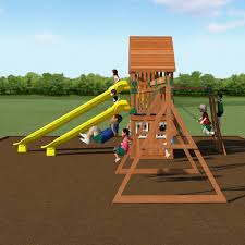 backyard discovery odyssey traverse wooden swing set walmart com