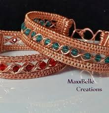 weave wrap bracelet images Tutorial egyptian wire weave bracelet pinterest wire weaving jpg