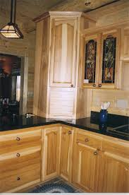 Rustic Hickory Kitchen Cabinets 94 Best Hickory Cabinets Images On Pinterest Hickory Kitchen
