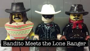 lone ranger halloween costume lego lone ranger meets bandito lego stop motion animation
