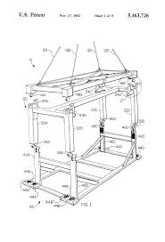 patent us5163726 spreader bar and overheight attachment with