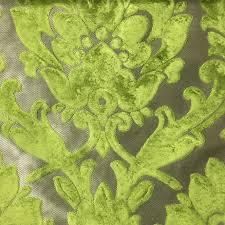 upholstery fabric radcliffe grass lurex burnout velvet