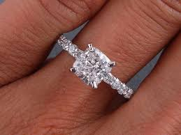 princess cushion cut engagement rings 188 best engagement rings images on ring jewels