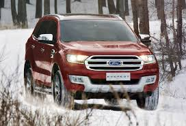 Ford Everest Facelift New Ford Everest Has Toyota Prado In Its Gunsights
