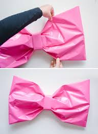 bow wrapping paper bow gift wrap diy