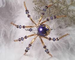 the spider spider ornaments by thespiderlady