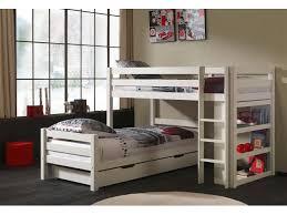 chambre lit jumeaux lits superposés séparables tic tac en angle couchage 90x200 cm