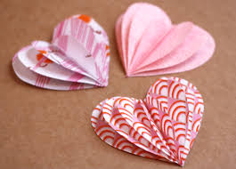 Fabric Heart Decorations Fabric Valentine Hearts Garland How About Orange