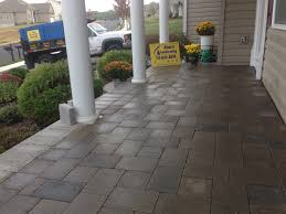 Laying Patio Pavers by Hanover Pavers Ryan U0027s Landscaping