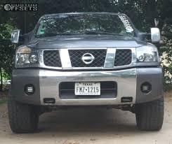 nissan titan leveling kit wheel offset 2004 nissan titan aggressive 1 outside fender
