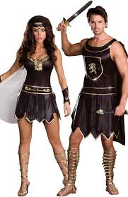 halloween costume ideas for couples pinterest couples costumes warrior couples costume online at teezers