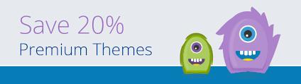 20 discount on wordpress premium themes with templatemonster