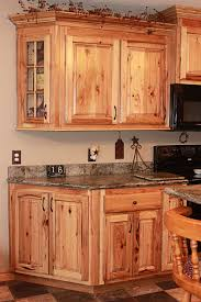cherry wood portabella lasalle door rustic hickory kitchen