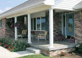 exterior preparation about columns for front porch posts for