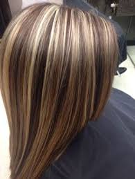 1000 images about platinum brown hair high lights on brown hair with chunky blonde and auburn highlights google