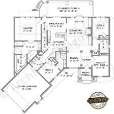 White House First Floor Plan Austin River Rustic Floor Plan Mountain House Plans