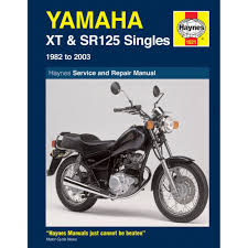 yamaha sr125 haynes manual