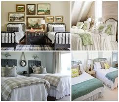 amenager une chambre avec 2 lits chambre à coucher adulte avec deux lits en 23 exemples