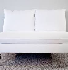 furniture armless couch armless settee armless settee sofa