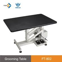best electric grooming table ft 898r sw electric height adjustable dog lifting grooming table