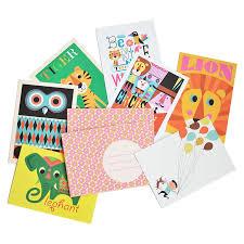 postkarten designen 7 postkarten inkl umschläge hej omm design