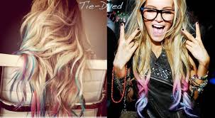frosted hair color pictures tie dye hair tips how to get awesome hair beauty tutorial