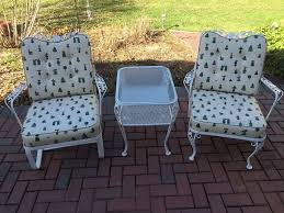 vintage patio furniture adds to the comfort of relaxing home