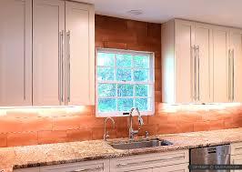 6 copper backsplash tile typhoon bordeaux granite