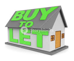 buy let meaning landlord buying 3d rendering royalty free stock